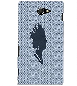 PrintDhaba Queen D-4862 Back Case Cover for SONY XPERIA M2 (Multi-Coloured)