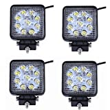 MCTECH 4 X 27W LED Square...