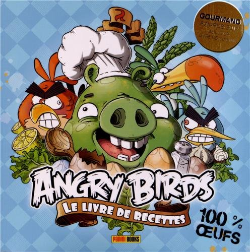 Livre de cuisine Angry birds