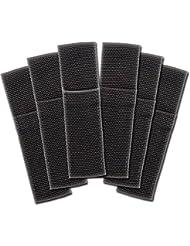 Mag-Lite SET-4T34,6x Original Maglite Nylon Gürtel Holster für Mini Maglite AA LED, SET-4T34, schwarz