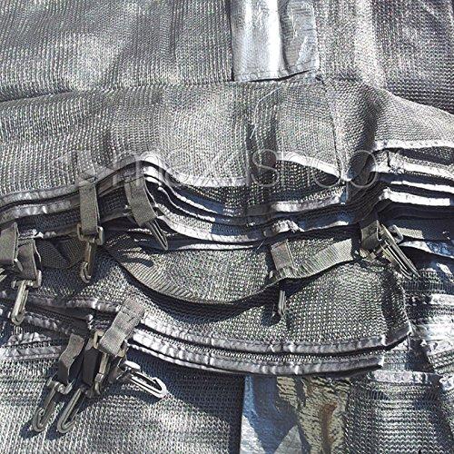 Trampolin awm® Sicherheitsnetz 10FT Ø 300 cm – 305 cm für 8 Stangensystem - 5