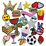 Chenkou Craft 25pcs Random Assorted Iron-on or Sew-on - Best Reviews Guide