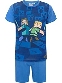 Minecraft Surrounded Boys Pyjamas