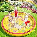 Sprinkler Pad Water Play Mat Sprinkle en Splash Play Mat speelgoed voor Outdoor Zwemmen Strand Gazon Kinderen Kids 170 CM