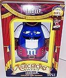 M&M's - Holiday Candy Dispenser von 2011 - Nussknacker - blau / rot - ca. 25 cm