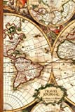 Travel Journal: Gifts / Gift / Presents ( Ruled Travelers Journal / Large Notebook with Antique Map Cover ) (Travel & World Cultures) by smART bookx (2014-11-13)