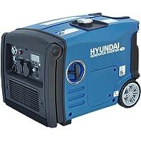 HYUNDAI Inverter-Generator HY3200SEi D (Inverter Stromerzeuger, tragbarer Benzin Generator mit 3.2 kW Maximalleistung…