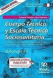 Subgrupo A2. Temario Común y Test. Volumen 1. Junta de Comunidades de Castilla La Mancha: Volume 1 (OPOSICIONES)