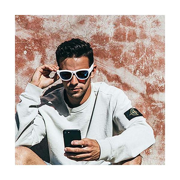 Auriculares Estéreo, Auriculares Bluetooth Gafas De Sol Música Auricular Sin Manos De Conducción Gafas Deportivas… 4