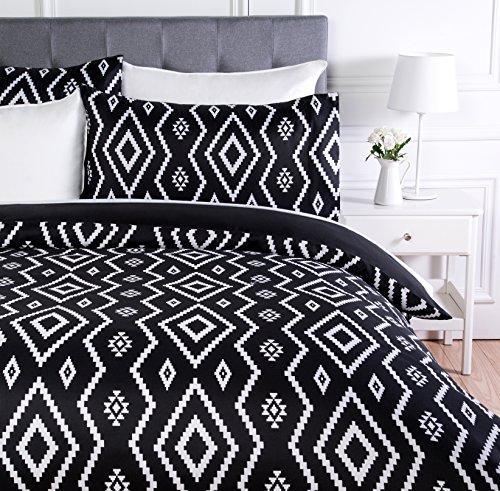 AmazonBasics - Juego ropa cama funda edredón