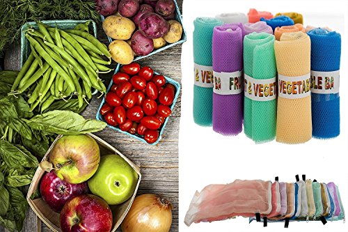 52 Off On Sio Fridge Vegetable And Fruit Reusable Net Bag Pack Of