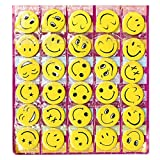 Smiley Face Expressions Button Pins Badg...