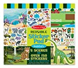 #2: Melissa and Doug Reusable Sticker Pad-Habitats