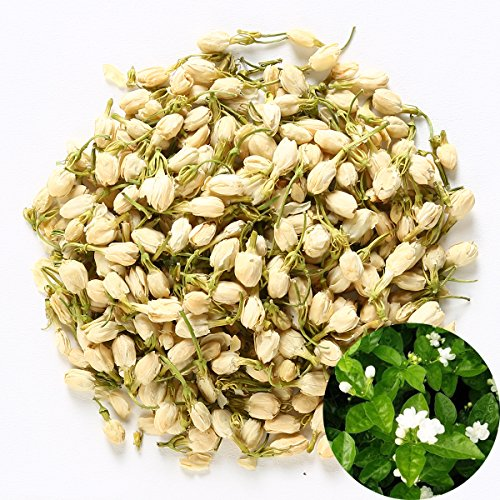 TooGet Duftender natürlicher Reiner Jasminknospen Organischer getrockneter Jasmin -