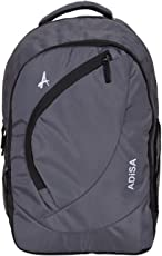 ADISA BP004 Grey Light Weight 31 Ltrs Casual Laptop Backpack