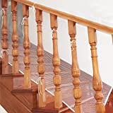 Aipark 3 mètre Filet de Protection Escalier pour Bébé et Enfant, Filet de Sécurité Balcon Barrière, Solide et robuste