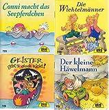 4 Pixi-Bücher aus PIXI-Serie 87: Nr. 723 Conni macht das Seepferdchen; 724 Die Wichtelmänner; 725 Der kleine Häwelmann; 726 Geister gibt's doch nicht!.