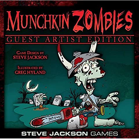 Munchkin Zombies Guest Artist Edition Greg Hyland Board Game by Steve Jackson Games