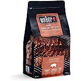 Weber 17664 - Miscela Chips per affumicatura Carne di Maiale, 700g, Marrone