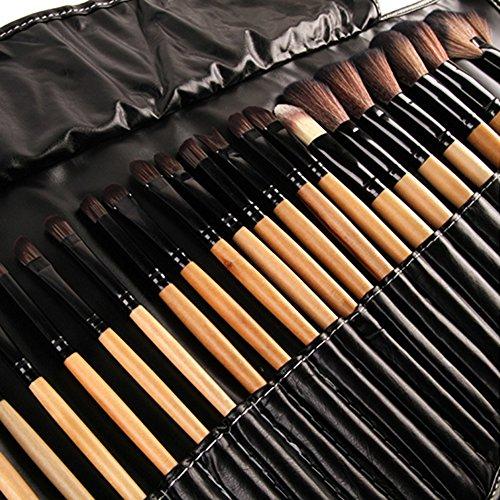 32 pièces pinceaux de maquillage outil pinceaux de maquillage Set Kit souple avec un sac