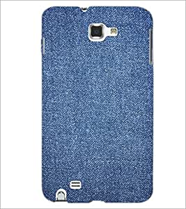 PrintDhaba Denim D-2411 Back Case Cover for SAMSUNG GALAXY NOTE 1 (Multi-Coloured)