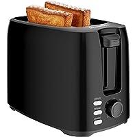 Bonsenkitchen Grille Pain 2 Tranches avec 7 Niveaux de brunissage et Plateau à Miettes, 750W, Toaster Auto-pop up avec…