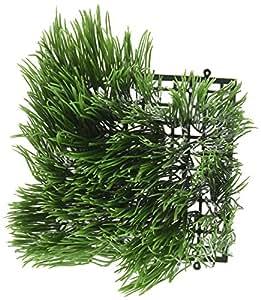 "Artificial Wheat Grass- Fake Soft PVC Plastic Decorative Wheatgrass: Ornamantal Flower Arranging & Home Decor - 6""x6""x4"""