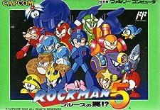 Rockman 5: Blues no Wana!? (aka Megaman 5) Famicom (NES Japanese Import) (japan import)
