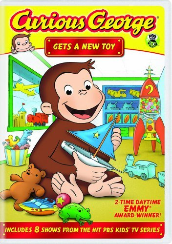 Curious George: Gets a New Toy by Frank Welker (Curious George-dvd)