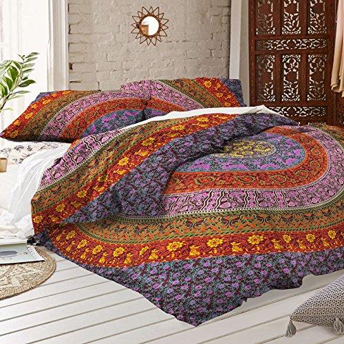 multi-color-mandala-duvet-doona-cover-throw-handmade-cotton-bedding-doona-cover-indian-duvet-covers-