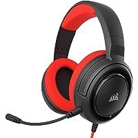 Corsair HS35 Stereo Cuffie Gaming con Microfono Unidirezionale Rimovibile, Altoparlanti in Neodimio da 50 mm…