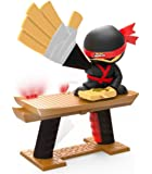 Jakks Pacific 150234 Ninja Electronic, Skill and Action, Fun Zapping Hand Slap Game, Lightning Fast Reaction, Who is Board, Multi