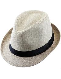 Amazon.co.uk  Beige - Fedoras   Trilby Hats   Hats   Caps  Clothing ba4c9ceb19c9