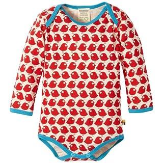 loud + proud Unisex - Baby Body 202, Gr. 62/68, Rot (tomato)