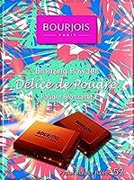 Bourjois Delice De Poudre Festival Bronzers e Evidenziatori - 16.5g - Applicare Sul il Zigomi e la Décolletage con un Polvere Pennello - Abbronzatura Polvere per un Naturale, Radiant Sunkissed Splendore - Delicate e Delicious Cioccolato Aroma - Iride...