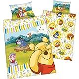 Disney Baby Cama de cama de Winnie the Pooh, Renforce, Varios Motivos