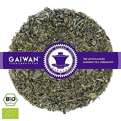 """N° 1295: Thé vert bio """"Le Touareg"""" - feuilles de thé issu de l'agriculture biologique - GAIWAN® GERMANY - thé vert de Chine, menthe de épi marocaine"""