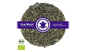 "Núm. 1295: Té verde orgánico ""Le Touareg"" - hojas sueltas ecológico - 250 g - GAIWAN® GERMANY - té verde de China, menta nana"