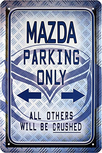 mazda-parking-only-auto-car-blechschild-20-x-30-retro-blech-468
