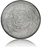 CHICCIE Teller mit gepunkteten Design - Durchmesser 35cm - Deko Schale Tablett