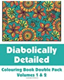 Diabolically Detailed Colouring Book Double Pack (Volumes 1 & 2) (Art-Filled Fun Colouring Books)