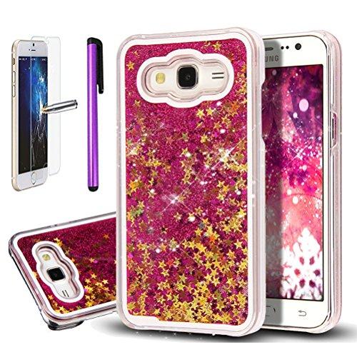 samsung-galaxy-j7-j700-caso-samsung-galaxy-j7-2015-funda-samsung-galaxy-j7-con-purpurina-transparent