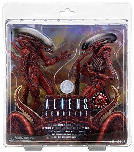 Alien 51625iens 7â € Escala Figura de acción € œgenocideâ € Big Chap y Perro 2Unidades 1