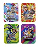 #10: Magicwand® Sun & Moon Burning Shadow Series PokéMon's Pack of 41 Trading Cards Game with Free Metal Box