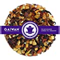 """N° 1273: Té de frutas """"Chaleur d'hiver"""" - feuilles de thé - GAIWAN® GERMANY - pommes, gratte-culs, rooibos, hibiscus, morceauxd'amande"""
