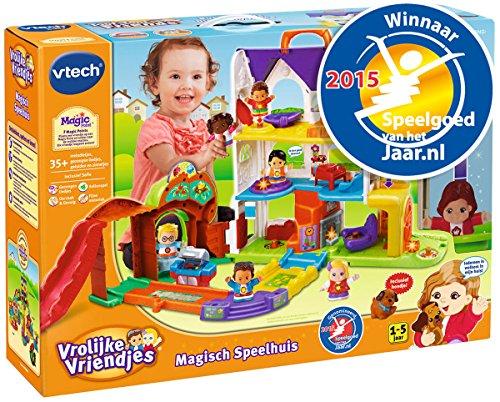 VTech Vrolijke Vriendjes 80-163023 Set de Juguetes - Sets de Juguetes (Acción / Aventura,, plástico, Dutch Language, AAA, CE)