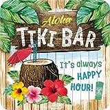Nostalgic-Art 46147 Tiki Bar | Retro Metall-Untersetzer | Tassen-Untersetzer |...