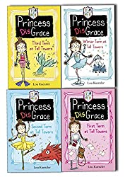 Princess Disgrace 4 Books Collection Pack Set By Lou Kuenzler (Princess DisGrace First Term at Tall Towers, Second Term at Tall Towers, Third Term at Tall Towers, Winterterm at Tall Towers)