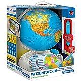 Clementoni 69492.1 - Interaktiver Globus mit App, Experimentieren, Spiel