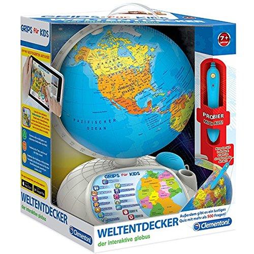 Clementoni 69492.1 - Interaktiver Globus mit App
